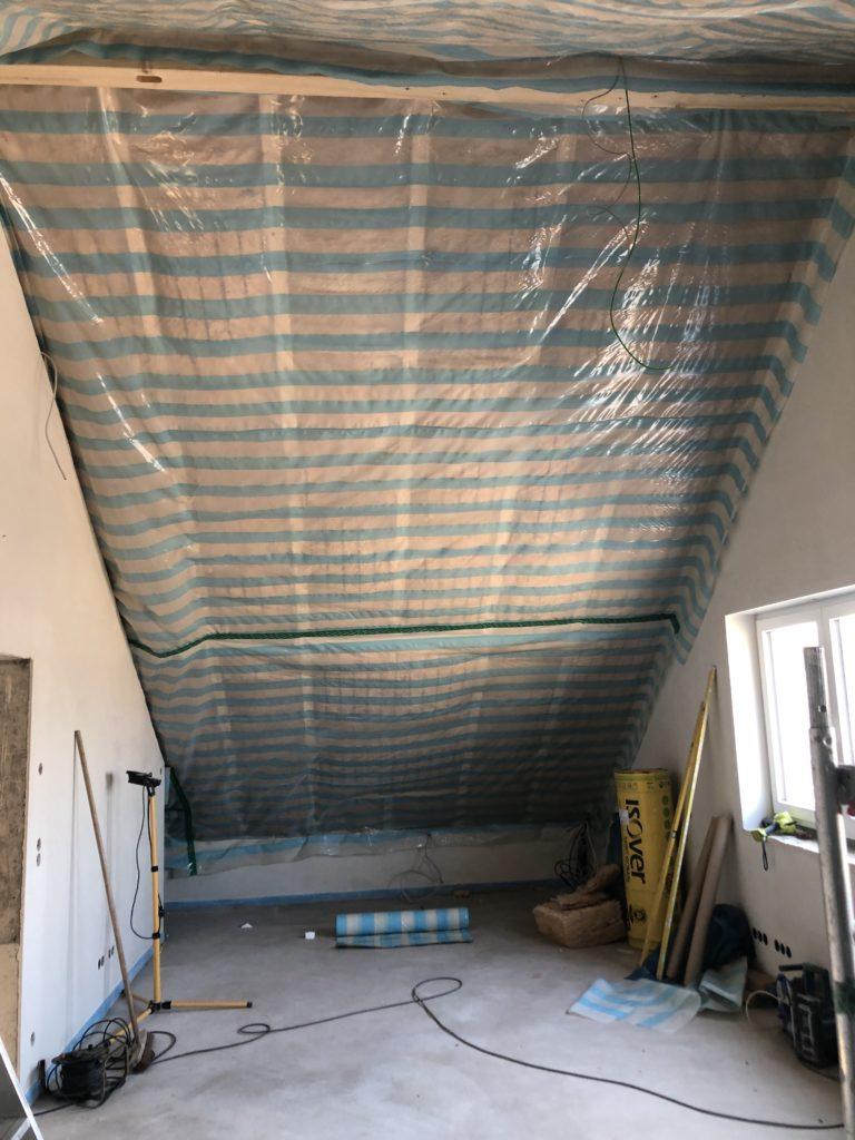 Bevorzugt Trockenbau und Decke abhängen – Füttis Baublog LT32